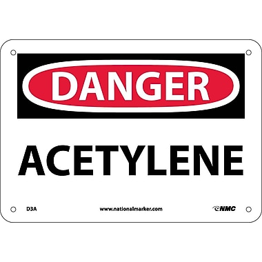 Danger, Aceytlene, 7