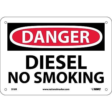 Danger, Diesel No Smoking, 7