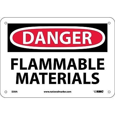 Danger, Flammable Materials, 7