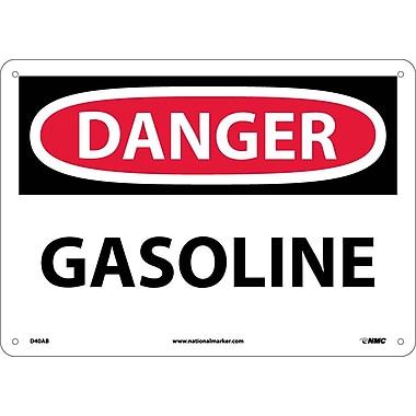 Danger, Gasoline, 10X14, .040 Aluminum