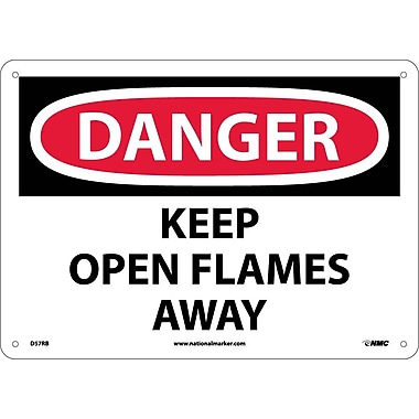 Danger, Keep Open Flames Away, 10