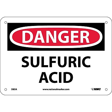 Danger, Sulfuric Acid, 7