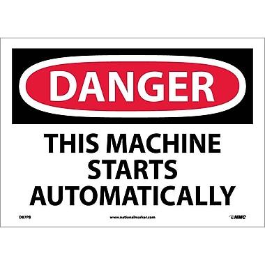 Danger, This Machine Starts Automatically, 10