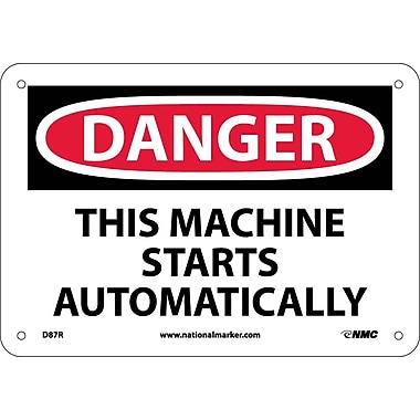 Danger, This Machine Starts Automatically, 7