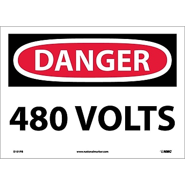 Danger, 480 Volts, 10