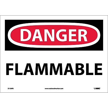 Danger, Flammable, 10