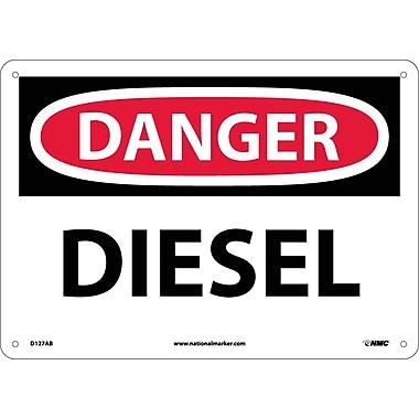 Danger, Diesel, 10X14, .040 Aluminum