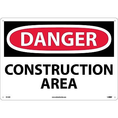 Danger, Construction Area, 14