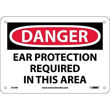 Danger, Ear Protection Required In This Area, 7