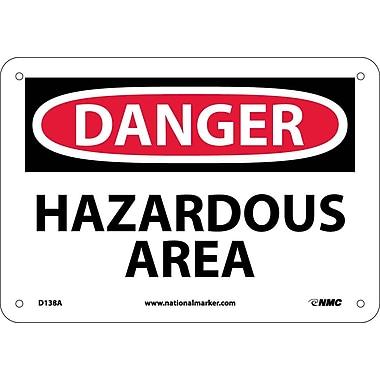 Danger, Hazardous Area, 7