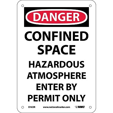 Danger, Confined Space Hazardous Atmosphere..., 10