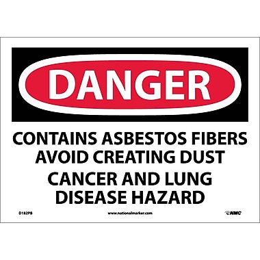 Danger, Contains Asbestos Fibers Avoid..., 10