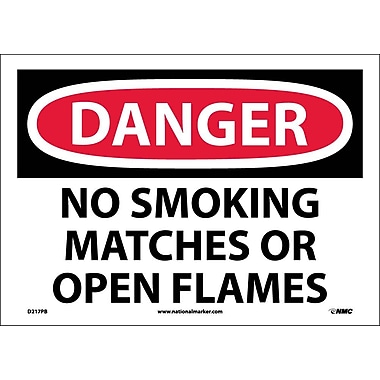 Danger, No Smoking Matches Or Open Flames, 10