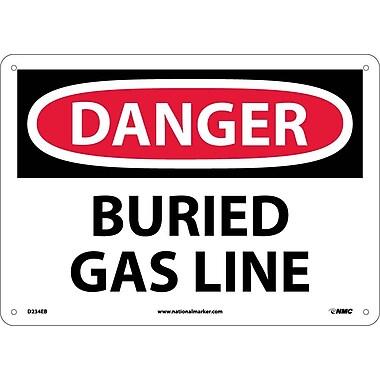 Danger, Buried Gas Line, 10