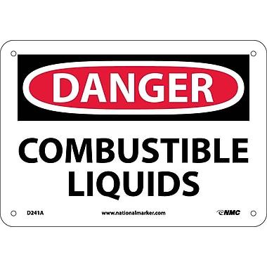 Danger, Combustible Liquids, 7