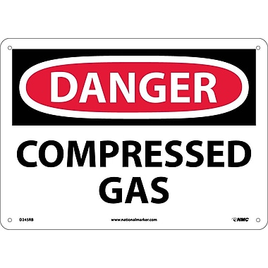 Danger, Compressed Gas, 10