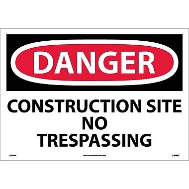 Danger, Construction Site No Trespassing, 14
