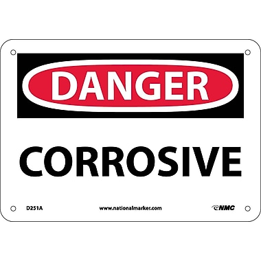 Danger, Corrosive, 7