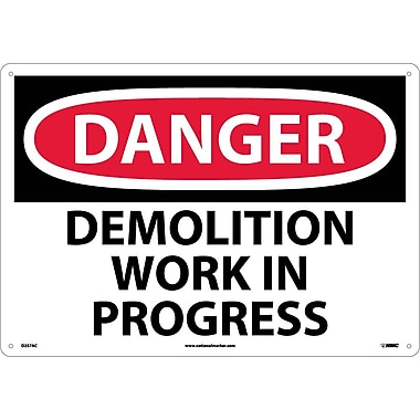 Danger Demolition Work In Progress, 14