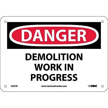 Danger, Demolition Work In Progress, 7