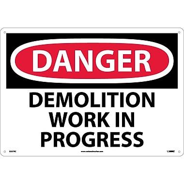 Danger Demolition Work In Progress, 14