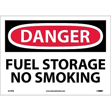 Danger, Fuel Storage No Smoking, 10