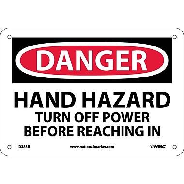 Danger, Hand Hazard Turn Off Power Before..., 7