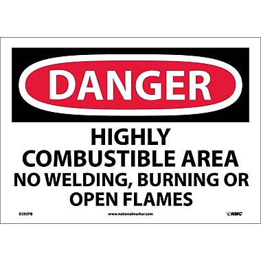 Danger, Highly Combustible Area No Welding Burning..., 10