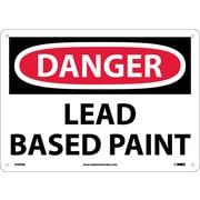 Danger, Lead Based Paint, 10X14, Rigid Plastic