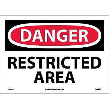 Danger, Restricted Area, 10