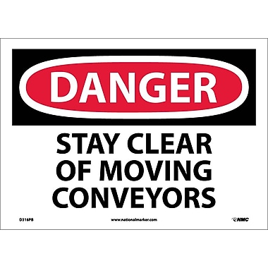 Danger, Stay Clear Of Moving Conveyors, 10