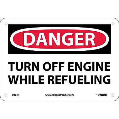 Danger, Turn Off Engine While Refueling, 7