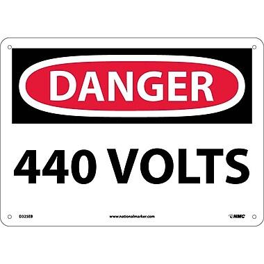 Danger, 440 Volts, 10X14, Fiberglass
