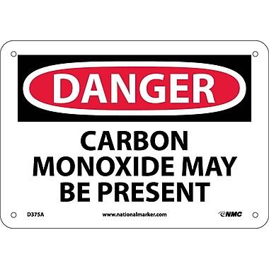 Danger, Carbon Monoxide May Be Present, 7