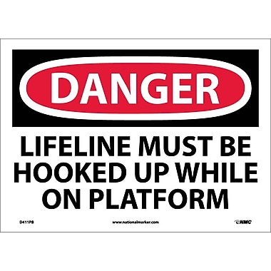 Danger, Lifeline Must Be Hooked Up While On..., 10