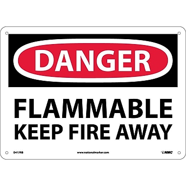 Danger, Flammable Keep Fire Away, 10