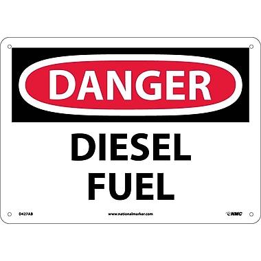 Danger, Diesel Fuel, 10X14, .040 Aluminum
