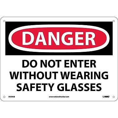 Danger, Do Not Enter Without Wearing Safety..., 10