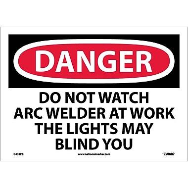Danger, Do Not Watch Arc Welder At Work ..., 10