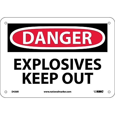 Danger, Explosives Keep Out, 7