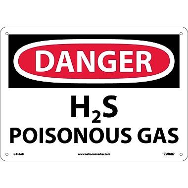 Danger, H2S Poisonous Gas, 10