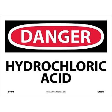 Danger, Hydrochloric Acid, 10