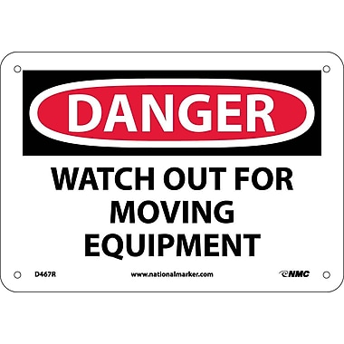 Danger, Watch Out for Moving Equipment, 7