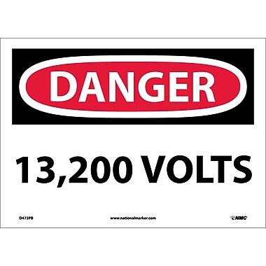 Danger, 13,200 Volts, 10