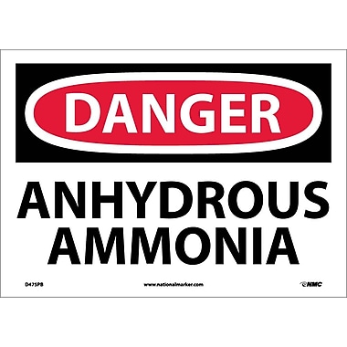 Danger, Anhydrous Ammonia, 10