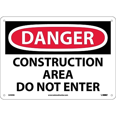 Danger, Construction Area Do Not Enter, 10