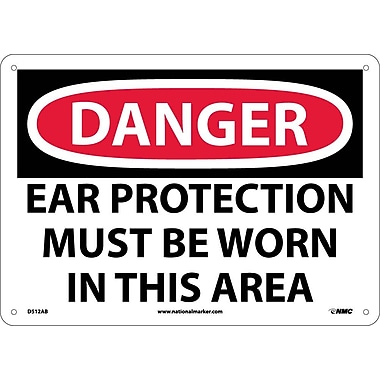 Danger, Ear Protection Must Be Worn In This Area, 10