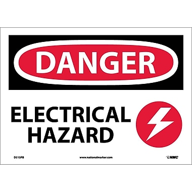 Danger, Electrical Hazard, Graphic, 10
