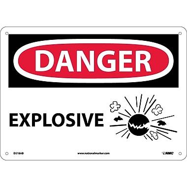 Danger, Explosive, Graphic, 10
