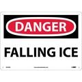 Danger, Falling Ice, 10X14, .040 Aluminum